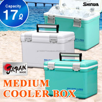 Sandwich box 17L(18Qt) keep cool chill ice warm Japan made outdoor fishing BBQ camp HOLIDAY LAND COOLER CBX 17L LBL