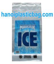 LDPE for ice Die cut blockhead