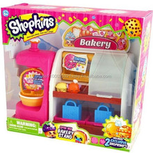 Brand New Shopkins Spin Mix Bakery Stand, Includes 2 Exclusive Shopkin Figures