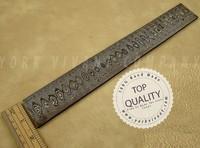 Billet of Damascus YV-B01, A true Custom Handmade Damascus Steel Billets by York Vivant Company