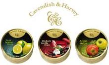 Cavendish & Harvey Fruit Mix Drops Candies 200gr Tin