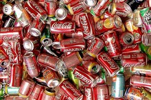 ice co...cola.....canned soft drinks