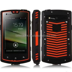 "For New S60 Waterproof Dual Core Android 4.2 3G Smart Phone w/ 4.0"", 2GB ROM, Walkie Talkie, GPS, NFC, SOS"