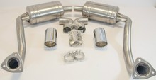 Catalytic Converter Back Sports Stainless Steel Exhaust System for Porsche 987 Cayman & Boxster by Top Gear Tuning