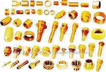 Latón mecanizado cnc, cnc mecanizado de piezas de latón
