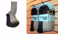 X-Odor Crew, Ankle, and Low Cut Socks by Northfield Sportswear -Retail Ready