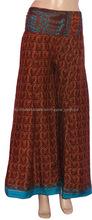 2015 últimos pantalones diseño harem -Yoga afgano señoras pantalones harén casual-desgaste y palacio partido de seda