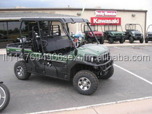 2015 Mule PRO FXT 6 Passenger 4x4 with PLOW and CAB Automatic Utility 4-Wheel Drive