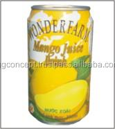 Wonderfarm Mango Drink 320ml / Wholesale Fruit Juice Drinks