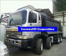 Dump Truck - 24 Tons Dump Box - 12 Wheeler - HYUNDAI