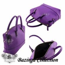 BCL-S015 Genuine Korean Nappa Cow Leather tote hobo shopper travel Shoulder leather handbag