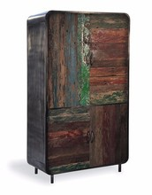 Vintage Industrial Wardrobe,industrial metal wardrobes,modern design bedroom furniture metal wardrobe