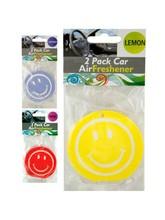 Smiley Face Car Air Freshener