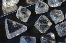 Natural rough diamonds
