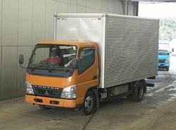 2006 Mitsubishi Canter Tons Aluminum Van YK22942/PA-FE72BEV/4M42 2970cc