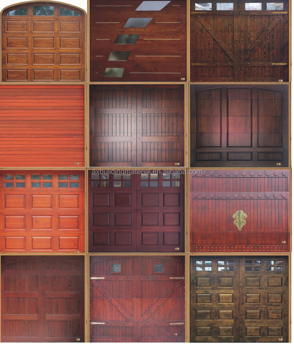 Wonderful european style solid wood garage door buy for European garage doors