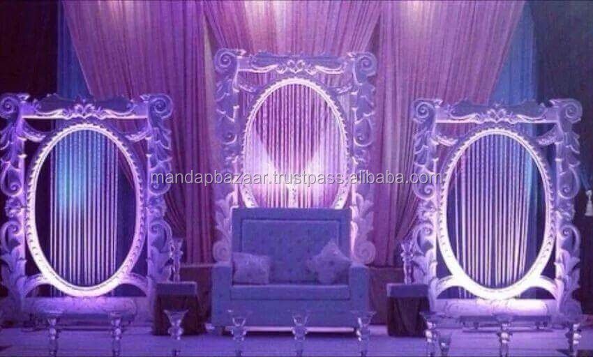 Pin by matei anatolie on scena pinterest wedding stage oval wedding mandap wedding stage oval photo frames details about junglespirit Choice Image