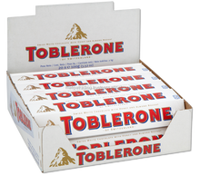 Toblerone White Chocolate Bars
