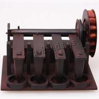 150x120x95mm Carved Rosewood Mini Machine Decoration