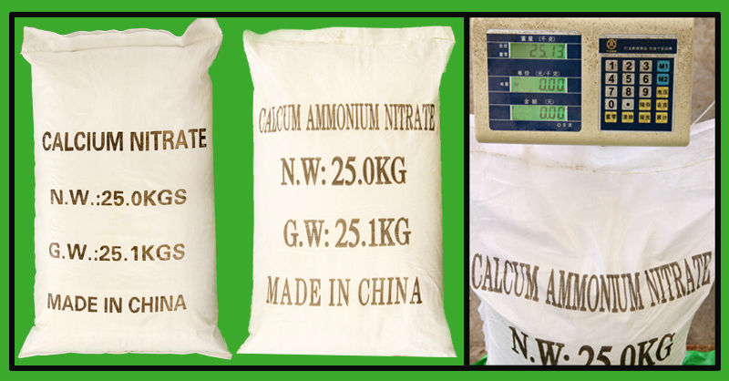 Manufacturer water soluble fertilizer calcium nitrate granular price