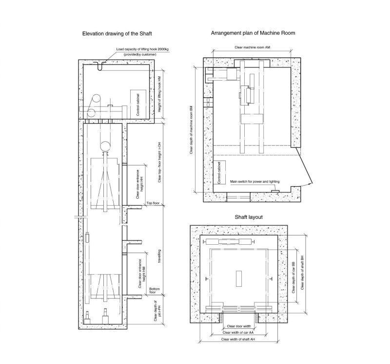Passenger Elevator Residential Elevator Home Elevator High