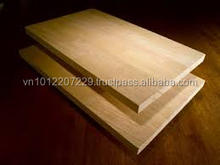 Rubber wood Finger Joint Laminated board / panel / worktop / Counter top / table top