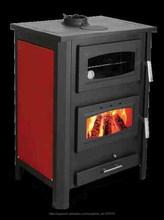Estufas y Casettes de leña con calefacción radiadores agua