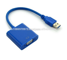 High Quality USB 3.0 to VGA Multi-display Adapter Converter External Video Graphic Card at Cheap Rates