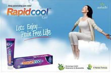 Rapidcool gel with no itching & redness on skin