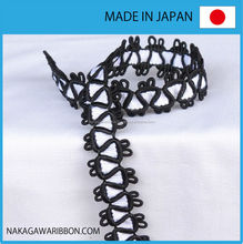 Fashionable unique gold braid for interior decorations made in Japan
