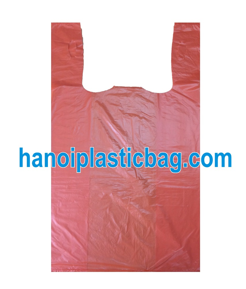 Light Color Ldpe Wholesale Plastic Package T Shirt Bag