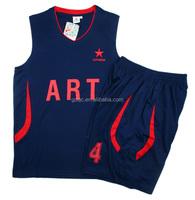 Healong Digital Print Discount reversible basketball training jersey sportswear 100% polyester basketball jersey