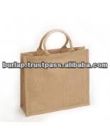 de bambou poignée sac de jute