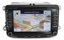 "Discount Price For New 7"" Auto Radio GPS Navigation DVD ATV MAP iPod VW Golf Passat Touran POLO JYD0001"