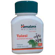 Himalaya Wellness - Pure Herbs - Tulasi - Respiratory Wellness - 60 Tablets/Bottle