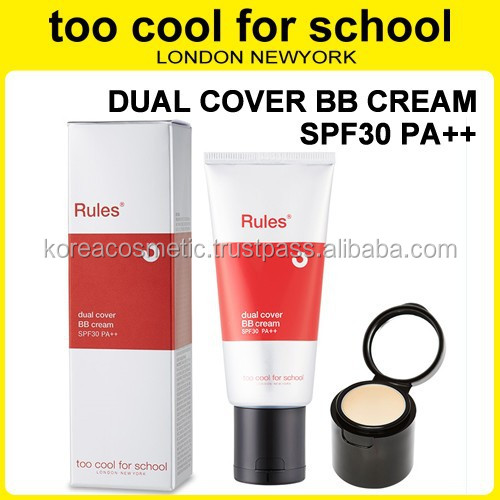 TOO COOL FOR SCHOOL]DUAL COVER BB CREAM SPF30 PA++/ BB+ Concealer ...