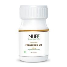 fenugreek azeite extra virgem prensado a frio o óleo 500mg em cheio de líquido cápsula vegetariana