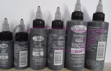 USA Make Hair Bonding Glue nice glue for hair weaving and weft hair extensions.