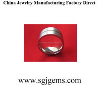 Special Crazy Selling stainless steel platinum ring anti-allergy