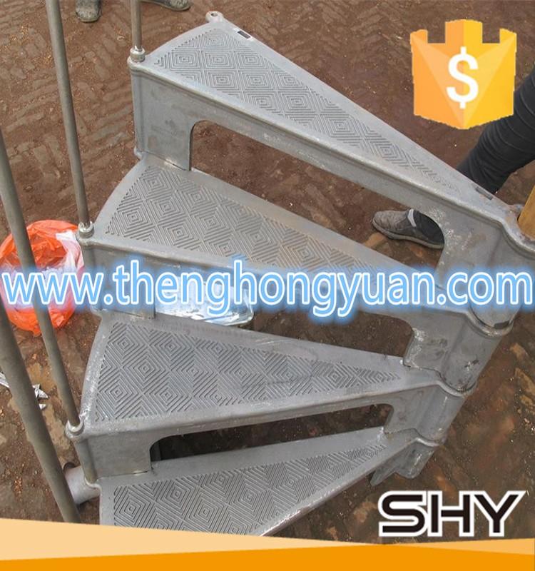 Pr fabriqu s industrielle escalier en colima on en m tal - Escalier colimacon prefabrique ...