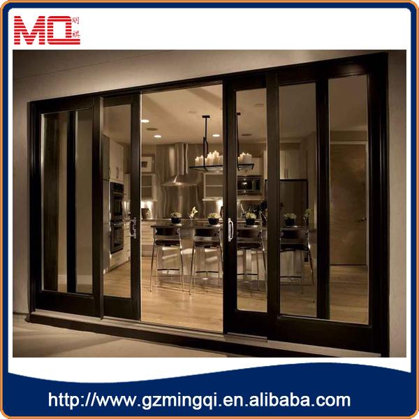 2016 modern glass sliding door designer doors front doors for Sliding glass door manufacturers