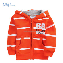 """No. 68"" Custom Korean Stripe Fashion Tie Dye Hoodie for Baby Boys"