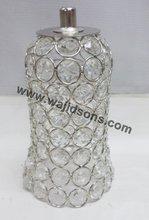 Decorative crystal votive for chandelier decorate
