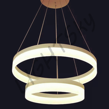 2 Rings/Rounds LED Pendant Lights