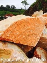 Calcite Orange rough semi precious gemstone