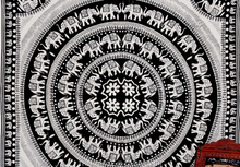 White Elephant Mandala Hippie Hippy Wall Hanging Indian Tapestry Throw Bedspread Bed Decor Sheet Ethnic Decorative Art