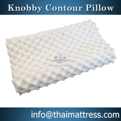 100% Thailand Natural latex pillow Knobby Contour Shape
