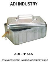 STAINLESS STEEL NURSE MIDWIFERY CASE ADI INDUSTRY ( H154A)