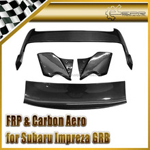 For Subaru Impreza GRB Varis Spoiler - Full Carbon