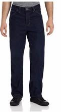 Pantalones vaqueros de mezclilla jeans fábrica bangladesh / fabricación de bajo costo de base bangladesh
